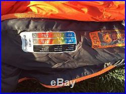 0 Degree 850 Down Fill Marmot Lithium Left Zip Long Sleeping bag