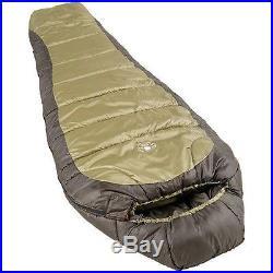 0 Degree Sleeping Bag Green Camping Mummy Outdoor Hiking Big Down Warm