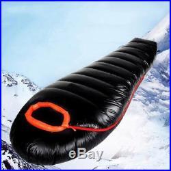 1000g -10°C Mumien Schlafsack Schlafsack Daunen Ultraleichter Camping Wandern