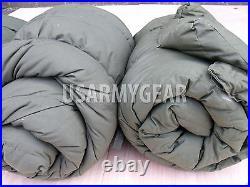 1 Made in USA Army Intermediate Cold Weather ECW Military USMC Sleeping Bag -10F
