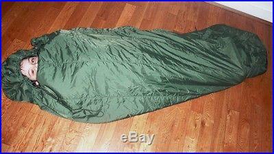 2 Each Genuine 4pc Military Sleeping Bag System 4 SEASON SLEEPING BAG