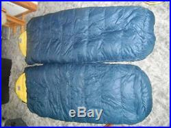2 Frost Line Kit Hiking Camping Mummy Down Sleeping Bags With Military Compression