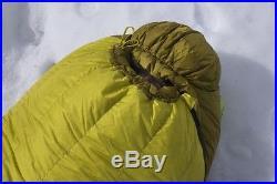 30% Off! New Marmot Col Mem-brain 800 Fill Regular 6' Sleeping Bag, Left Zip