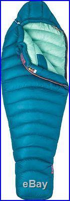 30% Off! New Women's Marmot Phase 850 Fill 20 Deg. F Sleeping Bag