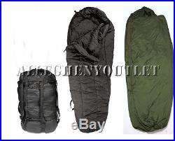 3 Pc Modular Sleep System INTERMEDIATE & PATROL SLEEPING BAG with STUFF SACK EXC