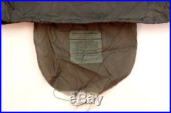 4 PC Weather Resistant Military Modular Sleeping System 50° to -40°+ GOOD