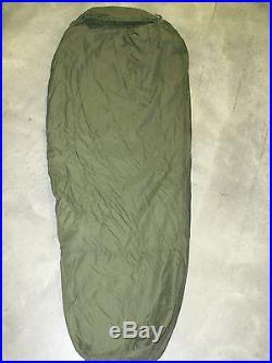 4 PIECE MODULAR SLEEPING BAG SLEEP SYSTEM MSS with GORE-TEX WOODLAND BIVY USGI VG