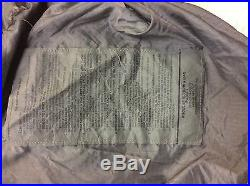 4-Piece Modular Sleep System MSS Military Sleeping Bag ECWS -30 USGI A+ Cond