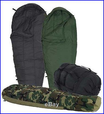 4-Piece Modular Sleep System MSS Military Sleeping Bags w/ Goretex Bivy ECWS NEW