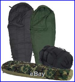4-Piece Modular Sleep System MSS Military Sleeping Bags with Goretex Bivy ECWS NEW