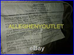 4 Piece Modular Sleep System MSS USGI Army Military Sleeping Bags w Bivy MSS VGC