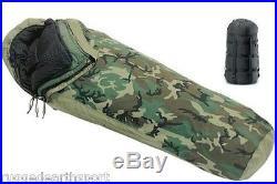 4-Piece Modular Sleep System MSS USGI Military Sleeping Bag VERY GOOD Rated -40F