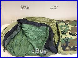 4 piece modular sleep system USGI surplus MSS Grade C Repaired ACU BIVY