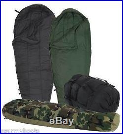 5 PC MODULAR MILITARY SLEEPING BAG SYSTEM, INTERMEDIATE, PATROL, GORETEX BIVY COVER