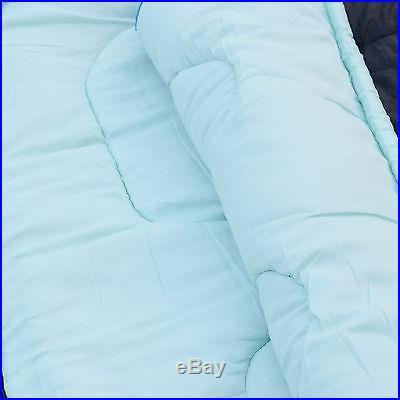 87x 29 Heavy Duty Sleeping Bag Camping Hiking Waterproof Outdoor -10? -5? Blue