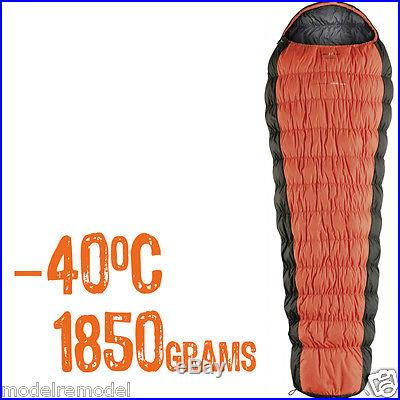 $900 Ferrino Revolution 1200 WTS 800 down Sleeping Bag 0- -40F super spiral stre