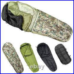 AKMAX Army Military Combat Modular Sleeping Bags System with Bivy Cover Multicam