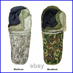 AKMAX Army Military Modular Sleeping Bags System Multicam with Bivy Cover