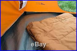 Adult Camping Sleeping Bag Flannel Canvas Sleeping Bag with Sack & Roll Up Strap