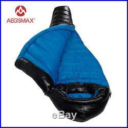Aegismax Winter Camping Professional Ultralight Mummy 90% Duck Down Sleeping Bag