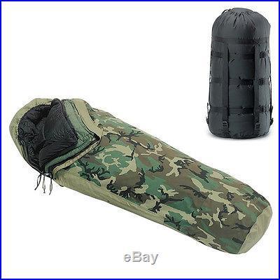 BRAND NEW US Military GORETEX -30° MODULAR SLEEP SYSTEM 4 Piece SLEEPING BAG