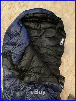 BRAND NEW Western Mountaineering Megalite Sleeping Bag 30 Degree Down 6ft/LZ