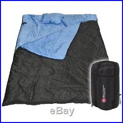 Best Choice Products Huge Double Sleeping Bag Camping Hiking 86x60