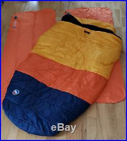 Big Agnes Big Creek 30 Double Sleeping Bag with 2 Insulated Pads Complete System