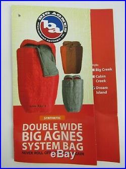 Big Agnes Dream Island 15 Degree Double Wide (2018) Sleeping Bag