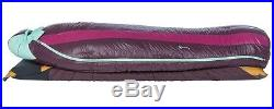 Big Agnes Ethel 0° 650 DownTek Sleeping Bag! Right Handed Petite Down Filled