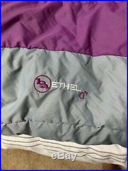 Big Agnes Ethel 0 Degree Sleeping Bag Regular Size Left Zipper