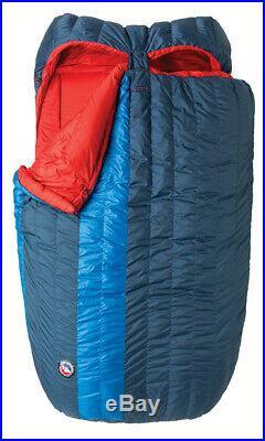 Big Agnes King Solomon 15 Degree Doublewide Sleeping Bag Updated