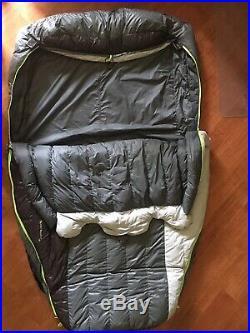 Big Agnes King Solomon Double Sleeping Bag 15 Degree Down