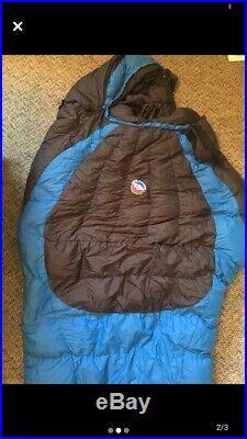 Big Agnes Lost Ranger 15 Degree Goose Down Ultralight Mummy Sleeping Bag