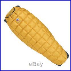 Big Agnes Pitchpine 45° 850 DownTek Sleeping Bag! Long Left Handed Down Filled