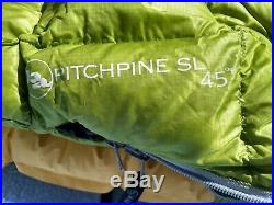 Big Agnes Pitchpine SL 800 Fill Down Sleeping Bag EUC