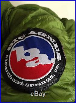 Big Agnes Pomer Hoit Sleeping Bag NWT