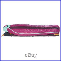 Big Agnes Roxy Ann 15° 650 DownTek Sleeping Bag Petite Right Handed Down Bag
