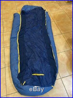 Big Agnes Sleeping Bag Deer Park 30 Degree Down Long Right Zip