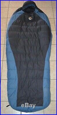 Big Agnes Storm King 0 Degree Goose Down Fill Large Sleeping Bag