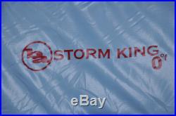 Big Agnes Storm King 0 Degree Sleeping Bag Down