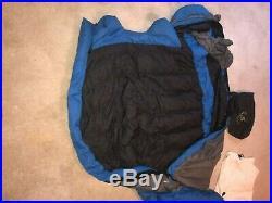 Big Agnes Zirkel 20 Long 800 Fill Power Down Sleeping Bag Used