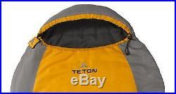 Big & Tall Ultralight Sleeping Bag Camping outdoors hunting 3 season +20 degree