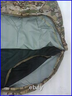 Bivy Bag Multicam Alloy Head Pole 3 Layer Large / Xlarge Zip Mozzie Net Bivi Sac