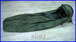 Bivy sack-tent. Sleeping bag. Field equipment. Russian army & Special Forces