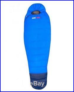 Black Wolf Hiker 500 Down Sleeping Bag Blue