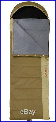 Black Wolf Tuff All Season Canvas Sleeping Bag King