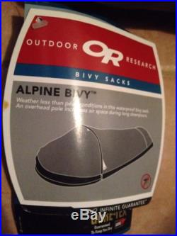 Brand New With Tags Outdoor Research Alpine Bivy