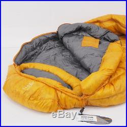 Brooks-Range Drift 0 Sleeping Bag Regular LZ Butterscotch Color With Bag