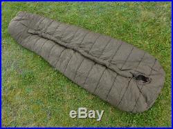 CARINTHIA Mumien Schlafsack DEFENCE 4 oliv 200cm (Large) Survival Militär TOP #B